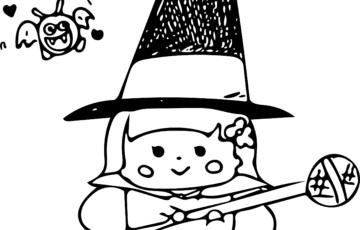 咲恵先生魔法使いイラスト