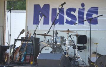ライブステージの写真