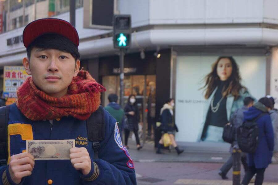 ¥5000を持つ翔太先生2
